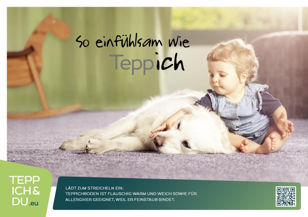 Plakate So einfühlsam wie Teppich  TEPPICH & DU
